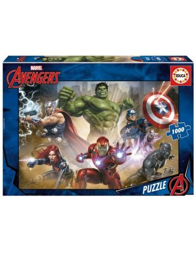 Puzzle 1000 pièces Educa : Avengers