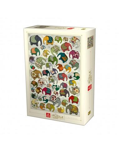 Puzzle 1000 pièces Deico Games :...