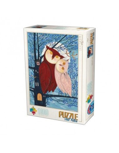 Puzzle 1000 pièces D-Toys : Couple de...