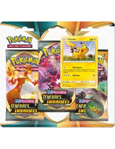Pokémon - Pack 3 Boosters...