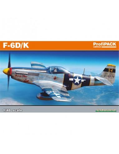 Maquette F-6D/K 1/48 - Eduard - 82103 -