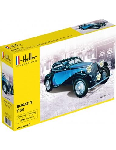 Maquette Bugatti T50 - 1/24 - Heller...