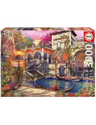 Puzzle 3000 pièces - Educa - Romance...