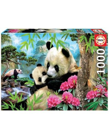 Puzzle 1000 pièces - Educa - Pandas -