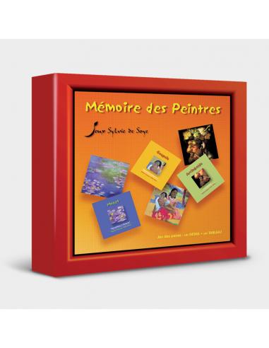 Jeu de Mémory - Mémoire des peintres