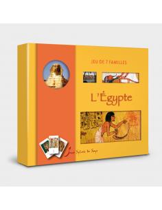 Jeu de 7 Familles - L'Égypte