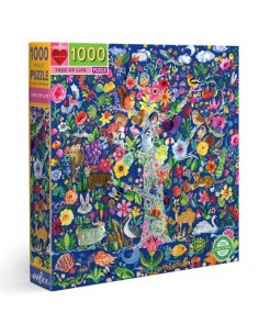 Puzzle 1000 pièces - Eeboo...
