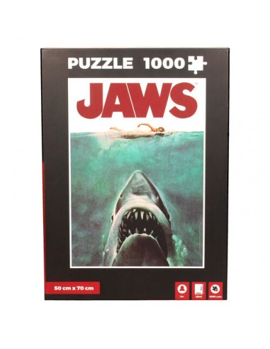 Puzzle 1000 pièces - SD-Toys - Jaws -