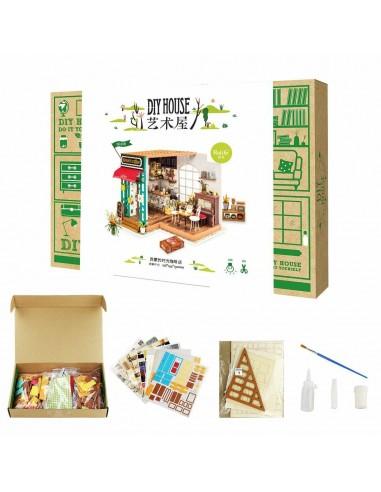 Kit Robotime - Coffe Shop -