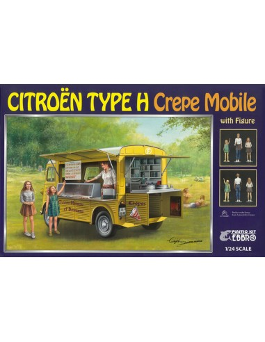 Citroën Type HY crêpe mobile 1/24 -...