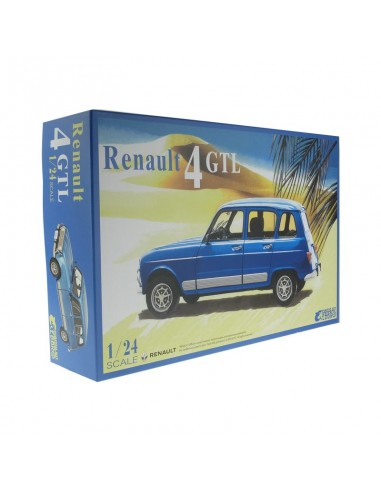 Renault 4 GTL 1/24 - Ebbro 25011 -