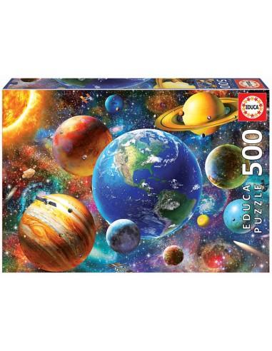 Puzzle 500 pièces - Educa : Système...